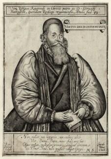 Gervase Babington, by Renold or Reginold Elstrack (Elstracke) - NPG D25898