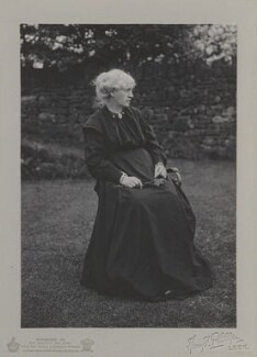 Jane Morris (née Burden), by Harry F. Phillips, circa 1900 - NPG x17990 - © National Portrait Gallery, London