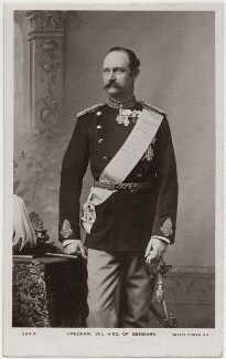 Frederick VIII, King of Denmark, printed by Rotary Photographic Co Ltd, circa mid 1900s - NPG x74396 - © National Portrait Gallery, London