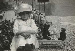 Janie Bussy, by Unknown photographer, circa 1912 - NPG x38589 - © National Portrait Gallery, London