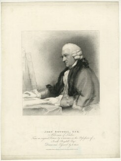 John Boydell, by Henry Meyer, after  Gilbert Stuart - NPG D32041