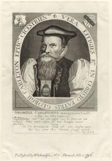 George Carleton, published by William Richardson, after  Friedrich van Hulsen - NPG D25928