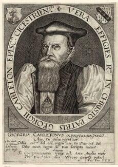 George Carleton, by Friedrich van Hulsen - NPG D25929