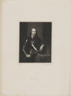 King Charles I, by John Henry Robinson, after  Sir Anthony van Dyck - NPG D31968