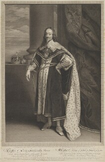 King Charles I, by Sir Robert Strange, after  Sir Anthony van Dyck - NPG D31970