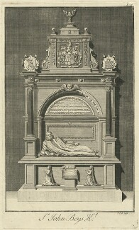 Monument to Sir John Boys in Canterbury Cathedral, by James Cole - NPG D32056