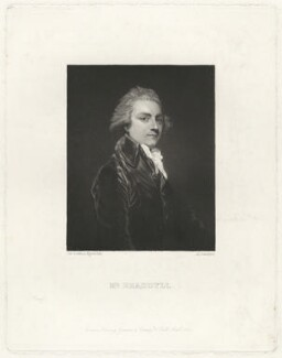 Wilson Gale-Braddyll, by Arthur N. Sanders, after  Sir Joshua Reynolds - NPG D32060