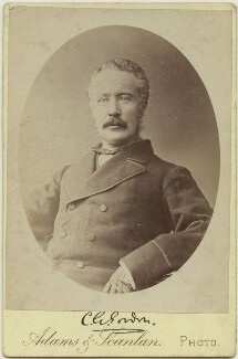 Charles George Gordon, by Adams & Scanlan, circa 1884 - NPG x24417 - © National Portrait Gallery, London