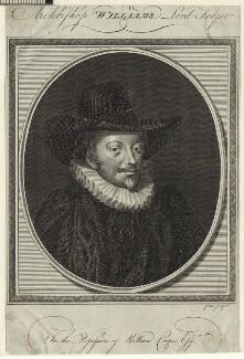 John Williams, by John Goldar - NPG D25942