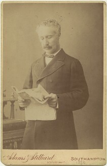 Charles George Gordon, by Adams & Stilliard, circa 1884 - NPG x12605 - © National Portrait Gallery, London