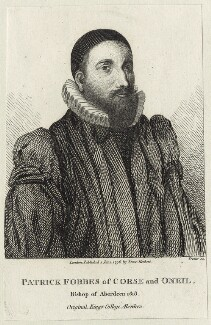 Patrick Forbes, by Thomas Trotter, published by  Isaac Herbert - NPG D25944