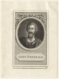 John Donne, by Cook - NPG D25947