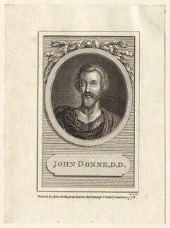 John Donne, by Cook, published 1778 - NPG D25947 - © National Portrait Gallery, London
