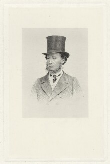 Orlando George Charles Bridgeman, 3rd Earl of Bradford, by Joseph Brown, after  John Jabez Edwin Mayall - NPG D32063