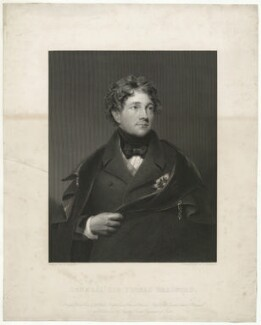 Sir Thomas Bradford, by W. Joseph Edwards, after  George Sanders (Saunders) - NPG D32064