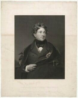 Sir Thomas Bradford, by W. Joseph Edwards, after  George Sanders (Saunders) - NPG D32064
