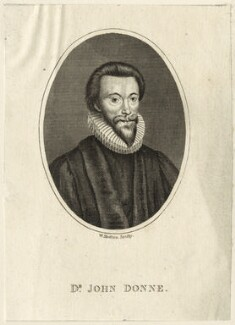 John Donne, by William Skelton - NPG D25949