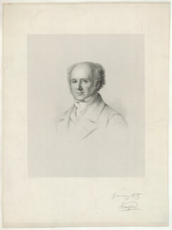 George Augustus Frederick Henry, 2nd Earl of Bradford, by Francis Holl, after  George Richmond - NPG D32066