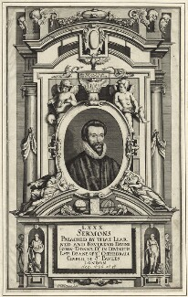John Donne, by Matthäus Merian the Younger, published 1640 - NPG D25951 - © National Portrait Gallery, London