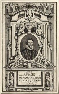 John Donne, by Matthäus Merian the Younger, published 1640 - NPG D25951 - © National Portrait Gallery, London