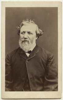 Robert Browning, by William Jeffrey - NPG x74634