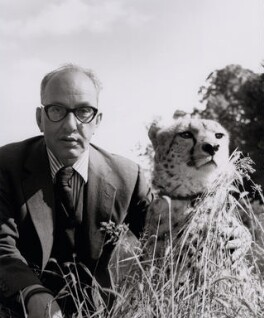 Francis Goodman with Chui, by Francis Goodman, June 1961 - NPG x131107 - © National Portrait Gallery, London