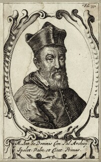 Marco Antonio de Dominis, after Unknown artist - NPG D25957
