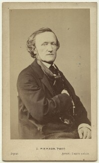 Richard Wagner, by Mayer & Pierson - NPG x74639