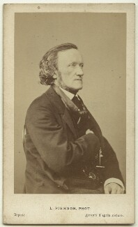 Richard Wagner, by Mayer & Pierson - NPG x74638