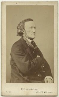 Richard Wagner, by Mayer & Pierson - NPG x74638