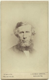 John Tyndall, by George Charles Wallich - NPG x74637