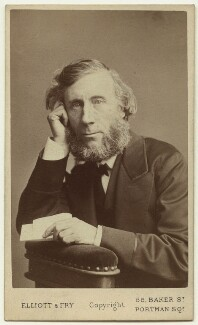 John Tyndall, by Elliott & Fry - NPG x129616