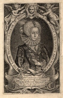 Frances Stuart (née Howard), Duchess of Richmond and Lennox, by Francis Delaram, after  Unknown artist - NPG D9066