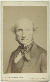 John Stuart Mill, by John Watkins, or by  John & Charles Watkins - NPG x74636