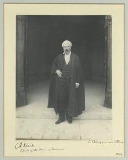 Sir Courtenay Peregrine Ilbert, by Benjamin Stone - NPG x8700