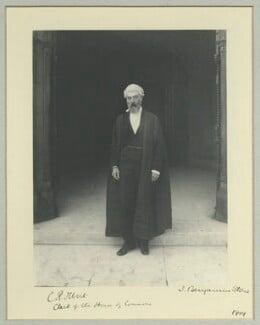 Sir Courtenay Peregrine Ilbert, by Benjamin Stone - NPG x44804