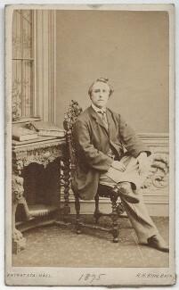 John Hollingshead, by Horatio Nelson King, 1875 - NPG x18535 - © National Portrait Gallery, London