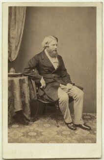 Sir Stafford Henry Northcote, 1st Earl of Iddesleigh, by Maull & Polyblank - NPG Ax8572