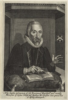 Arthur Hildersham, possibly by John Payne - NPG D26021