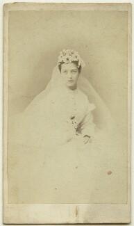 Georgina ('Nina') Chicheley (née Plowden), Lady Grey, by Schwarzschild & Co - NPG x26181