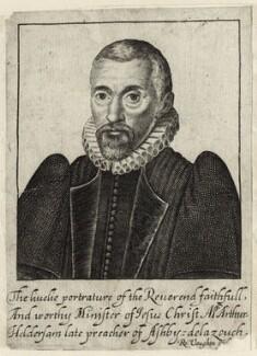 Arthur Hildersham, by Robert Vaughan - NPG D26022