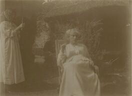 Jane Morris (née Burden), by Unknown photographer, late 1900s - NPG x27587 - © National Portrait Gallery, London