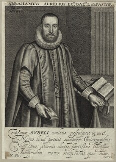 Abraham Aurelius, by Robert van Voerst - NPG D26031