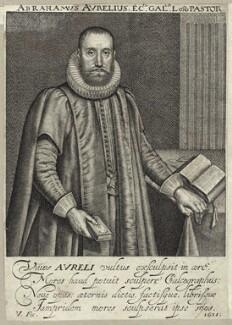 Abraham Aurelius, by Robert van Voerst - NPG D26032