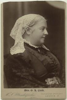 Dinah Maria Craik (née Mulock), by Hayman Seleg Mendelssohn - NPG x131114