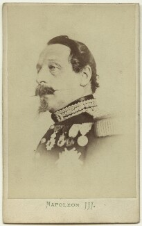 Napoléon III, Emperor of France, by London Stereoscopic & Photographic Company - NPG x129618