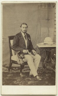 Prince Alfred, Duke of Edinburgh and Saxe-Coburg and Gotha, by Unknown photographer - NPG x129619