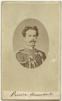 Umberto I, King of Italy, by Unknown photographer - NPG x129620