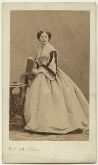 (Frances) Elinor (née Grant), Lady Colvile, by Disdéri - NPG x129621