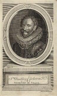 Dudley Carleton, Viscount Dorchester, by John Sturt - NPG D26052
